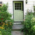 A Charming Side Dutch Door