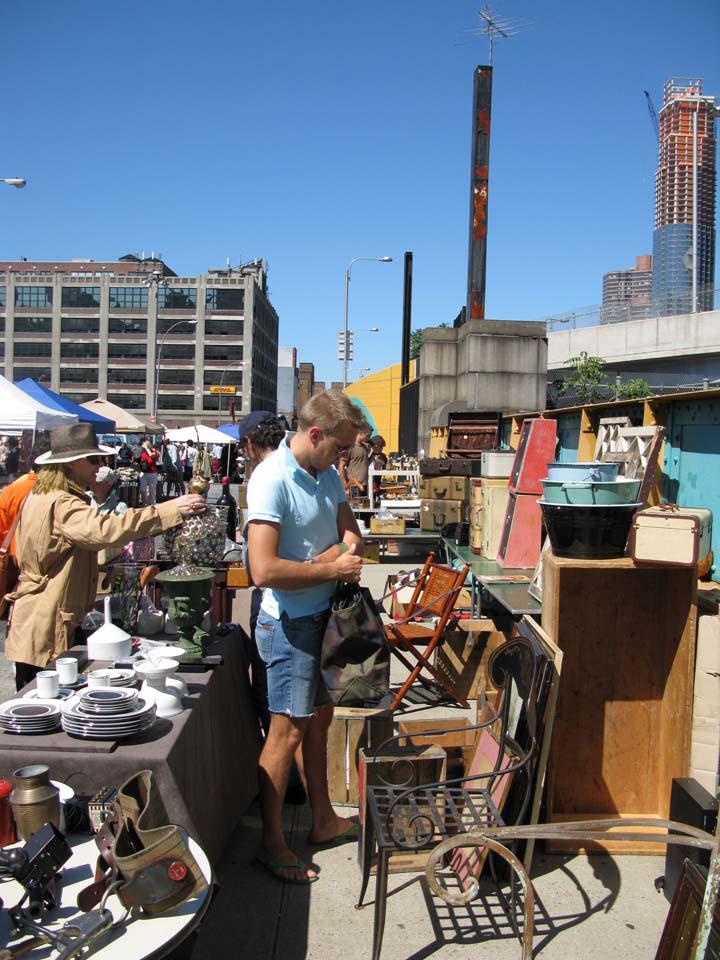 Sunday at the New York City Flea Market