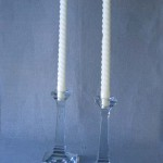 Obejct of the Day – Heisey Glass Candlesticks