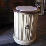Before & After – Fluted Column Side Table
