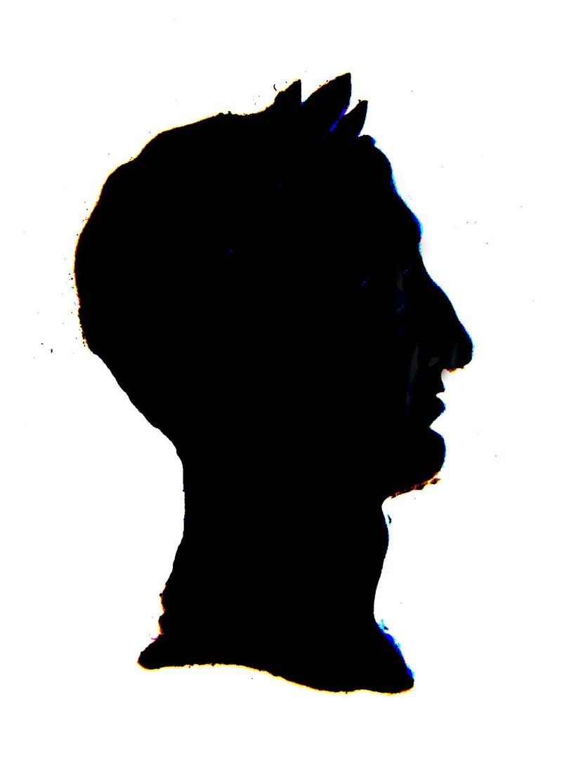 Etchingsilhouette