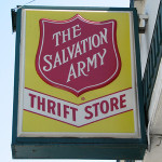 Shopping the Salvation Army