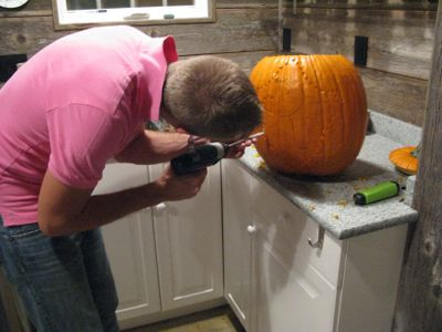 CarvedPumpkins.Drilling