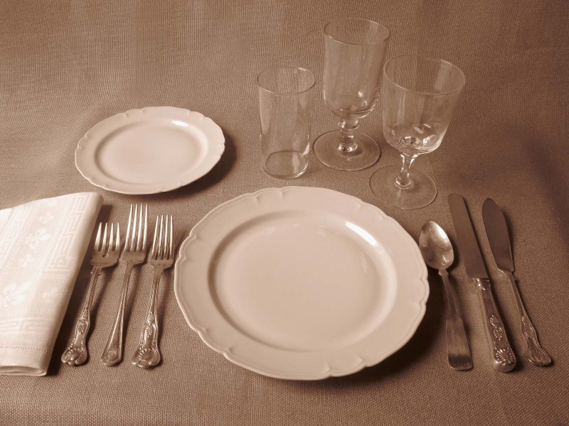 Americanformal & Table Manners