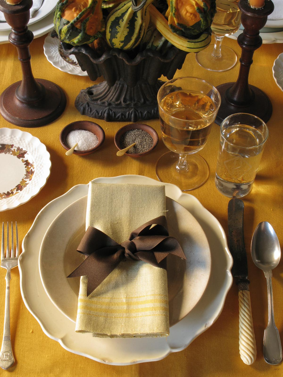 Knights Of The Kitchen Table Setting