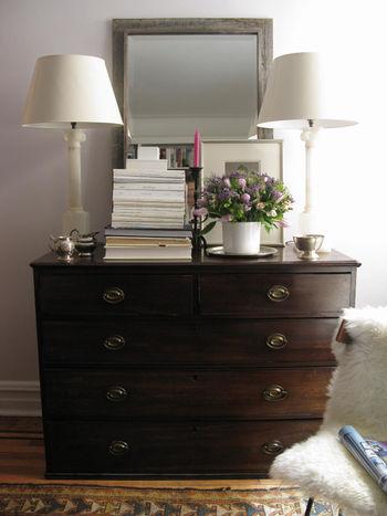 Bedroom Mirror Dresser