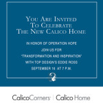 Join Me at Calico Home on September 16th!
