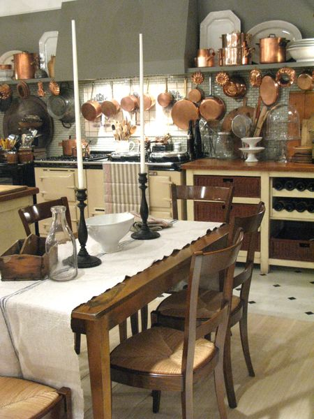 Vintage Bistro Table #361