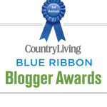 Country Living's Blue Ribbon Blogger Awards