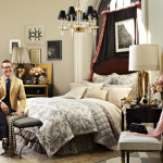 A <emm>Bedding Vignette</emm> for Ralph Lauren and Bloomingdale's