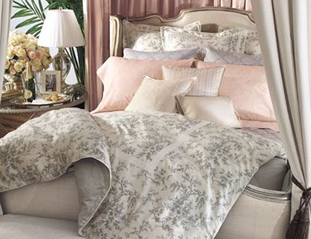 a8b6ba95691c8 A Bedding Vignette for Ralph Lauren and Bloomingdale s