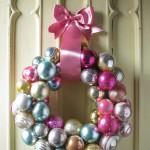 A Reader's Ornament Wreath