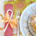 A Holiday Table Setting for Casa Sugar