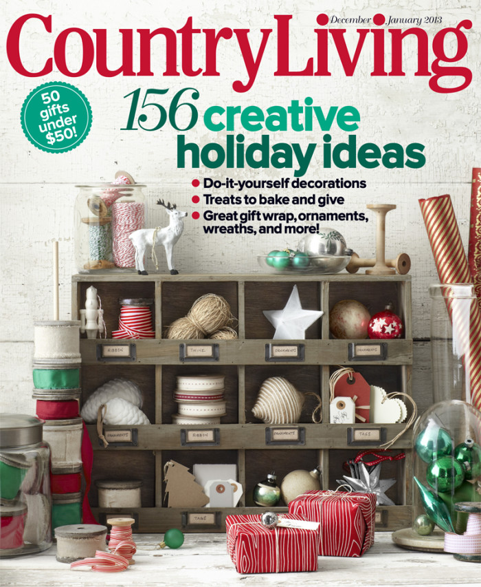 a country living christmas - Ross Christmas Decorations