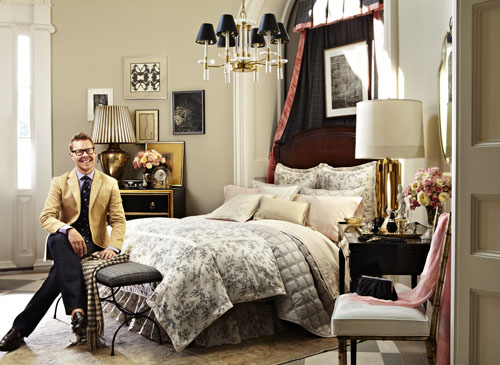 A Bedding Vignette for Ralph Lauren and Bloomingdale's